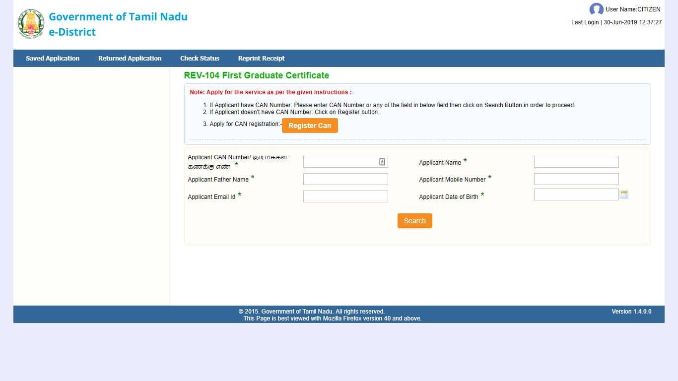 can number register