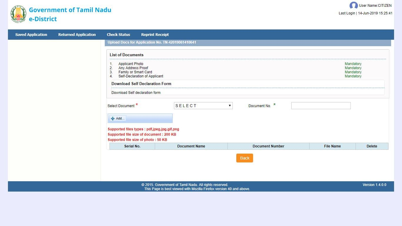 income-certificate-required-documents