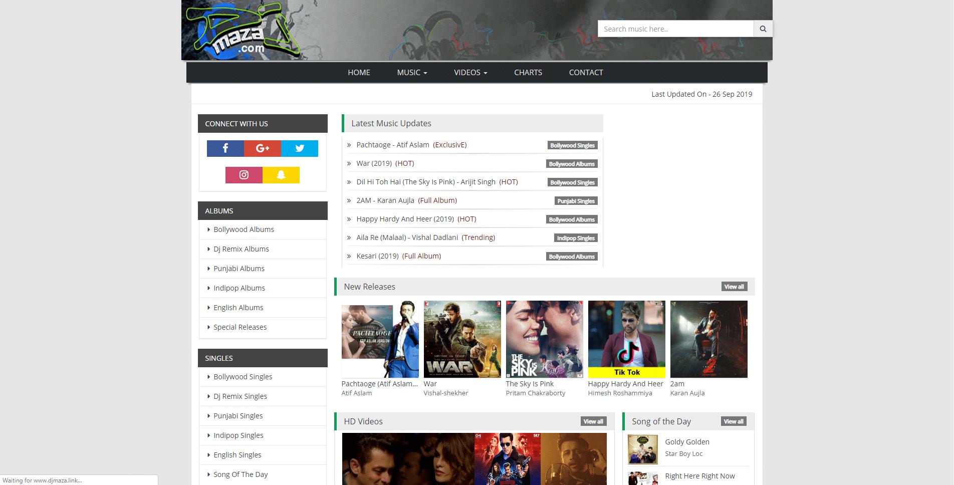 djmaza homepage