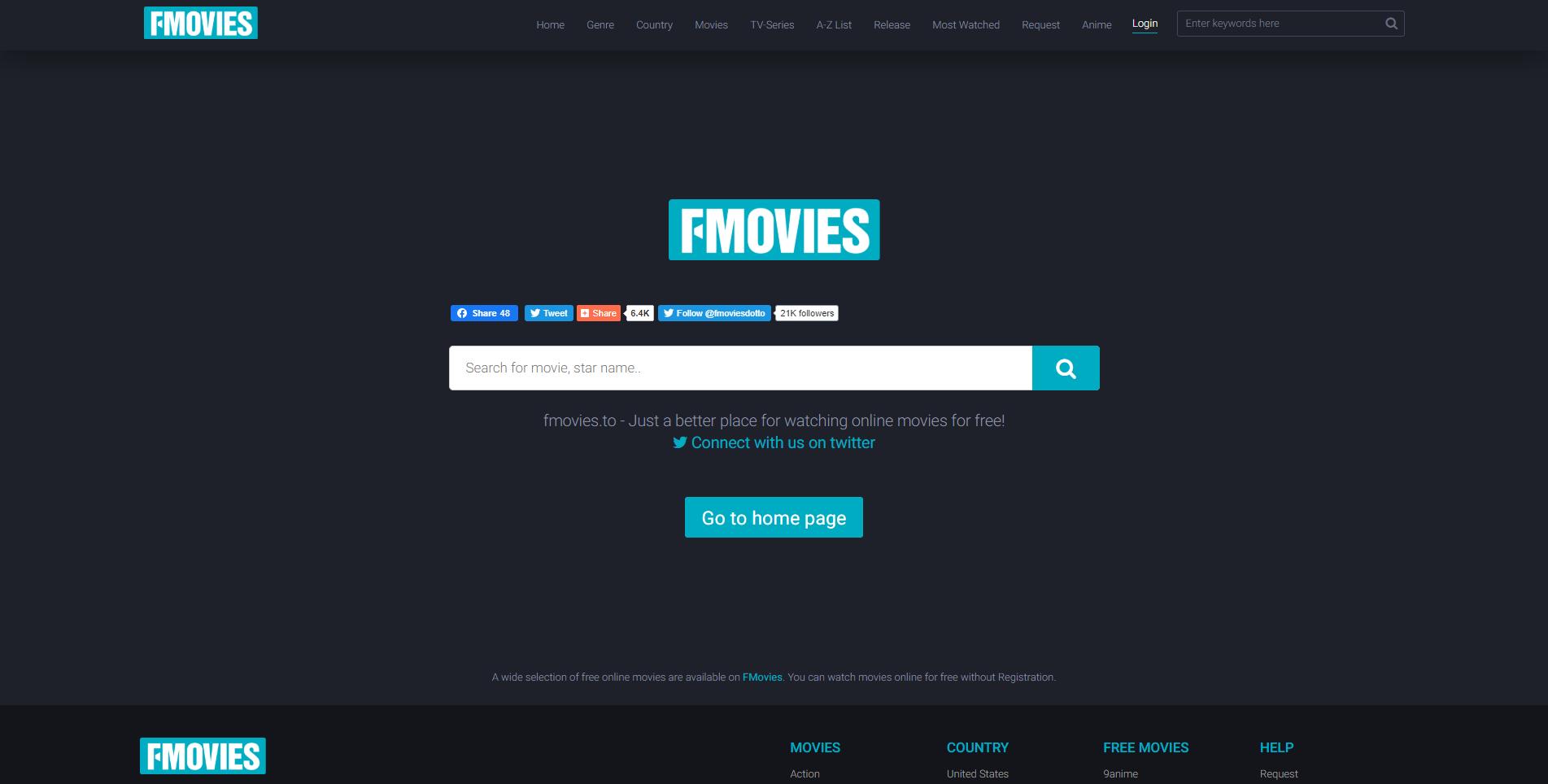 fmovies homepage