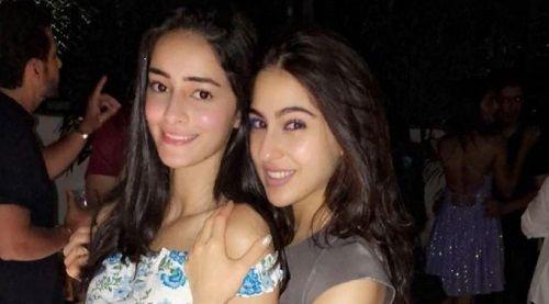 Ananya Panday and Sara Ali Khan