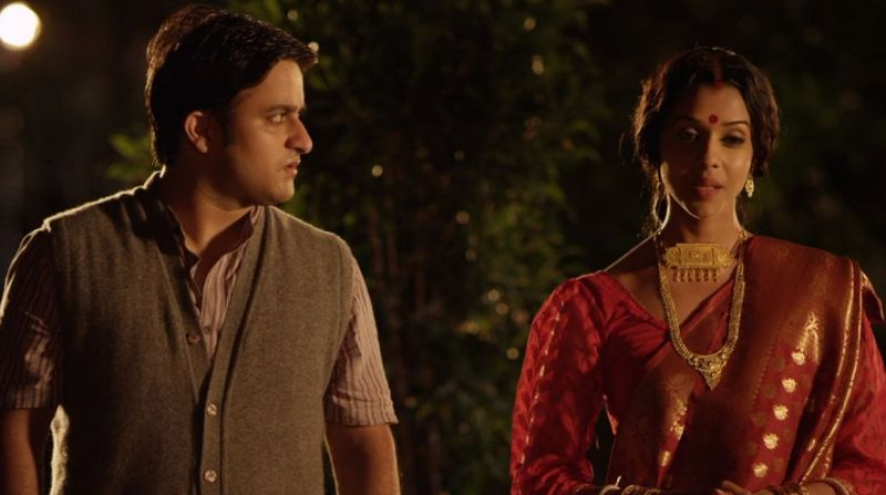 Anupriya Goenka in a scene from 'Stories by Rabindranath Tagore'
