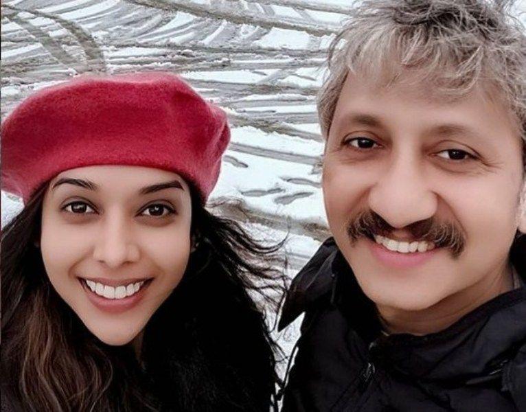 Anupriya Goenka with Neeraj Kabi