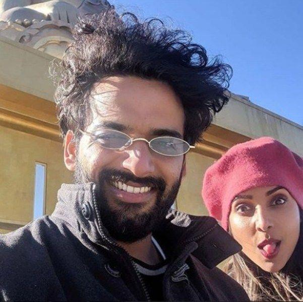 Anupriya Goenka with her Boyfriend