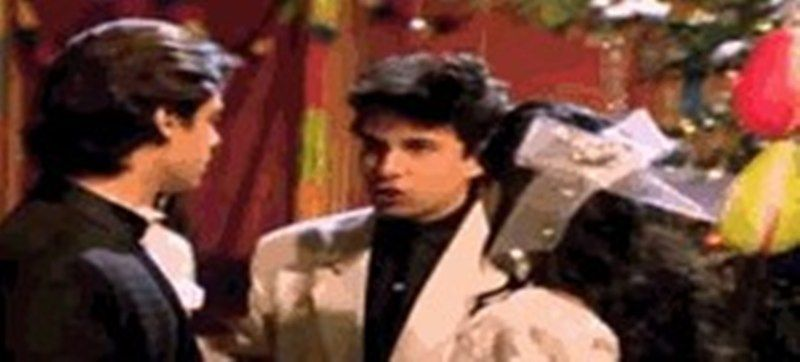 Deepak Tijori in a Scene from Aashiqui (1990)