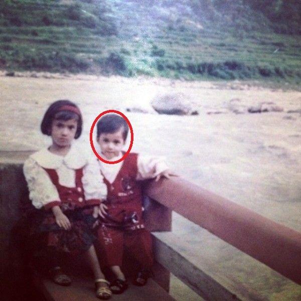 Disha patani in her childhood
