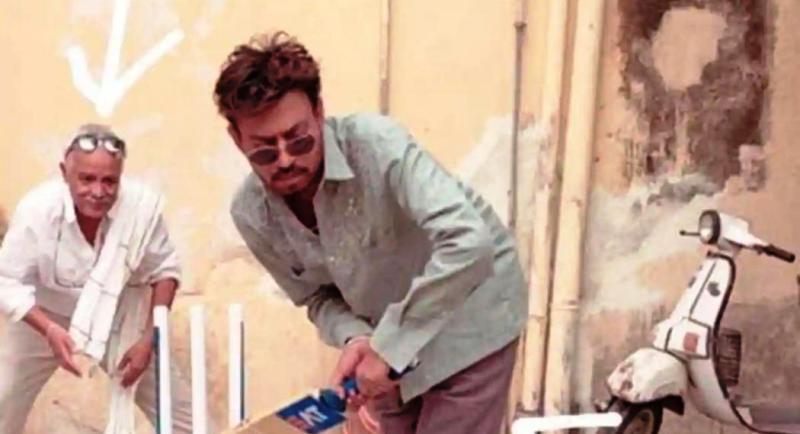 Irrfan Khan Playing Cricket