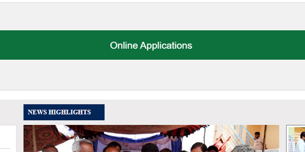 Online Application process