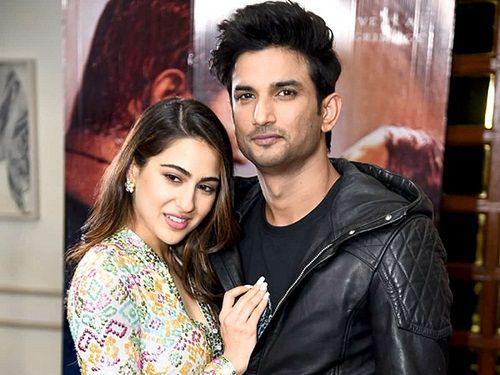 Sara Ali Khan and Sushant Singh Rajput