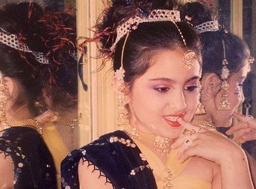 Sara Ali Khan in Her Childhood