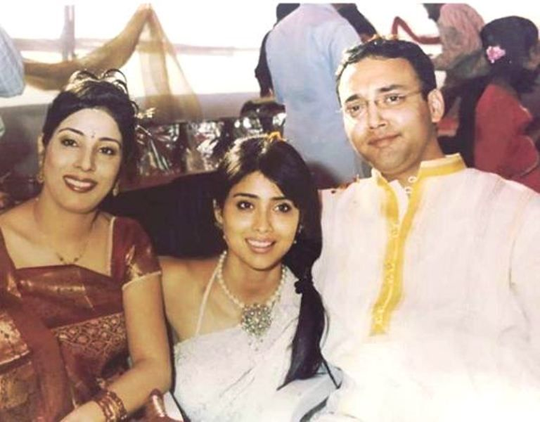 Shriya Saran with Her Brother