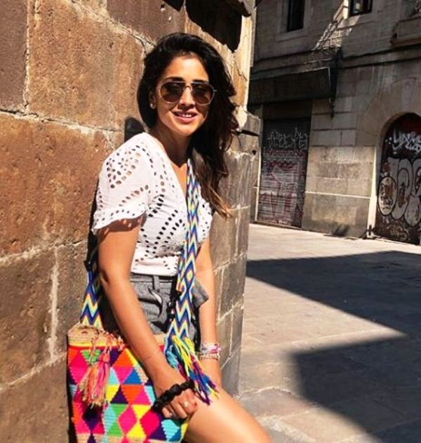 Shriya Saran's Picture During Her Vacation