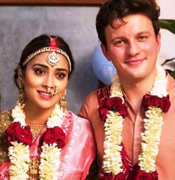 Shriya Saran's Wedding Picture
